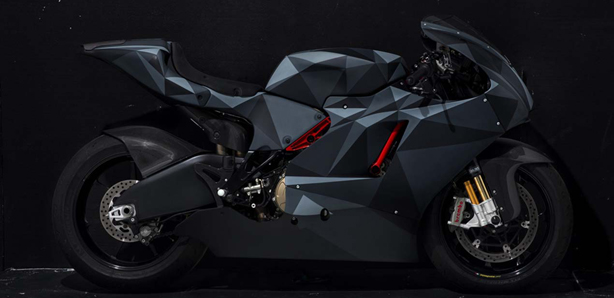 Ducati Desmosedici RR Black Polygon