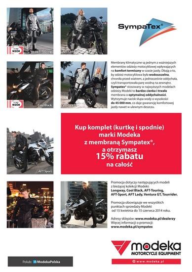 Modeka Sympatex_plakat promocja