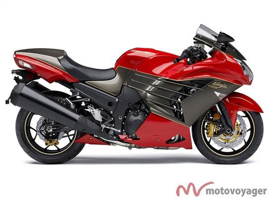 Kawasaki Ninja ZX R LE  high