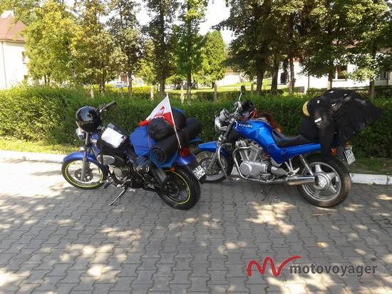 Motorowerem nad Bałtyk (1)