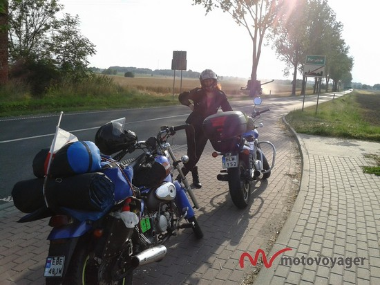 Motorowerem nad Bałtyk (4)