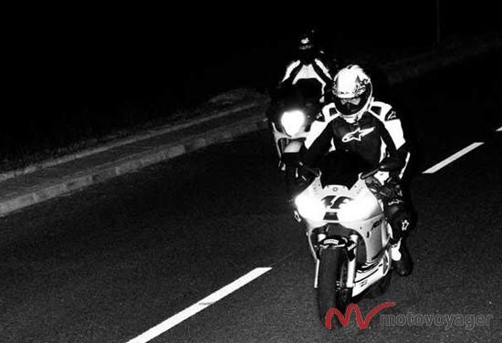 Dwa motocykle