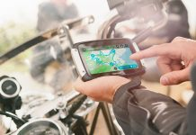 Nawigacja motocyklowa TomTom Rider 410