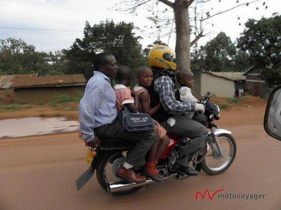 Motocyklizm po afrykańsku