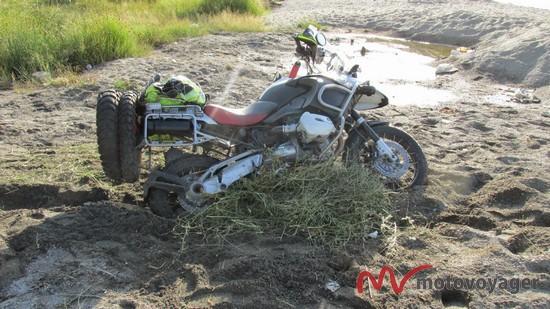 samotna wyprawa motocyklem turcja