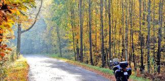 Droga Kaszubska motocyklem