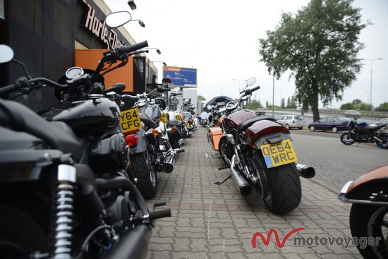 Wybory Puszystej Miss Lata. Harley Press Ride 2015
