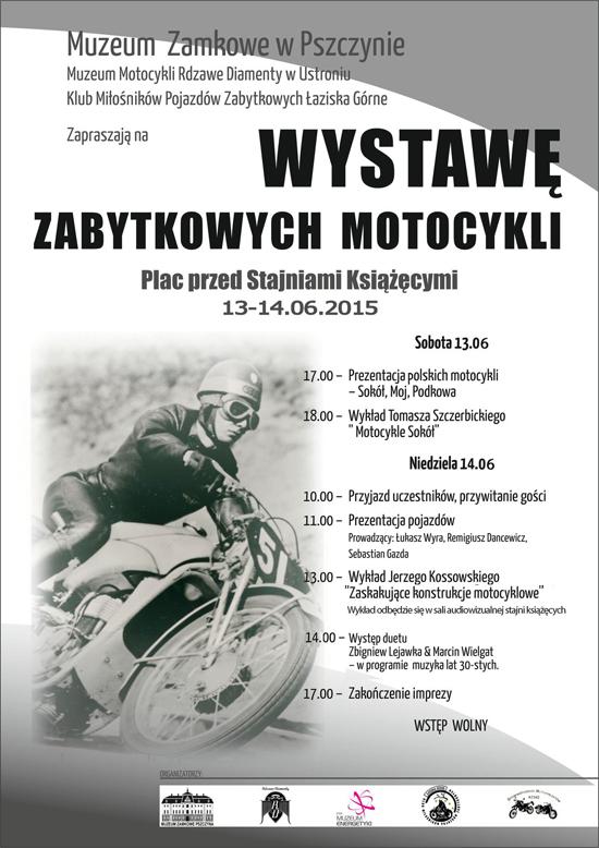 Plenerowa Wystawa Zabytkowych Motocykli 2015 www
