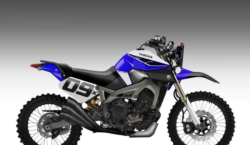 Ta ostra Yamaha MT-09 może przyprawić o ciarki