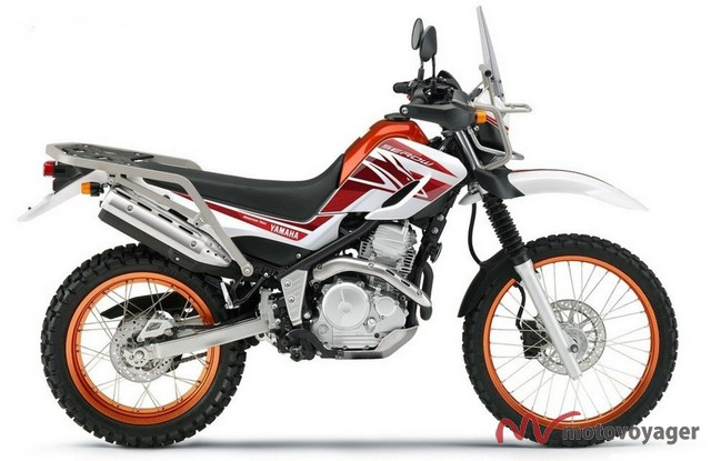 Yamaha Serow Touring 250(1)