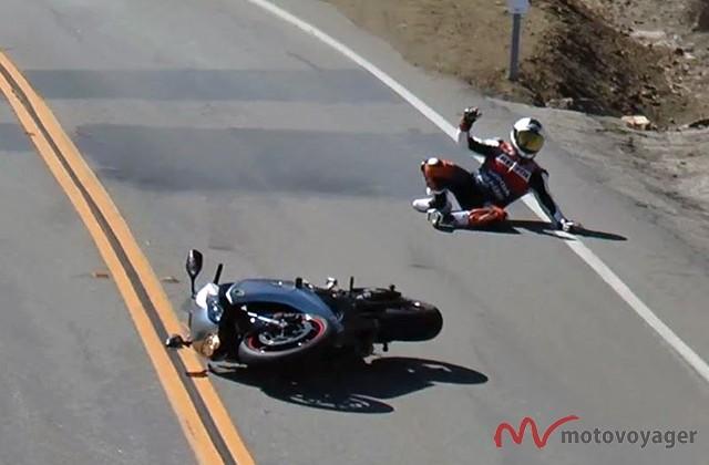 Kładź motocykl