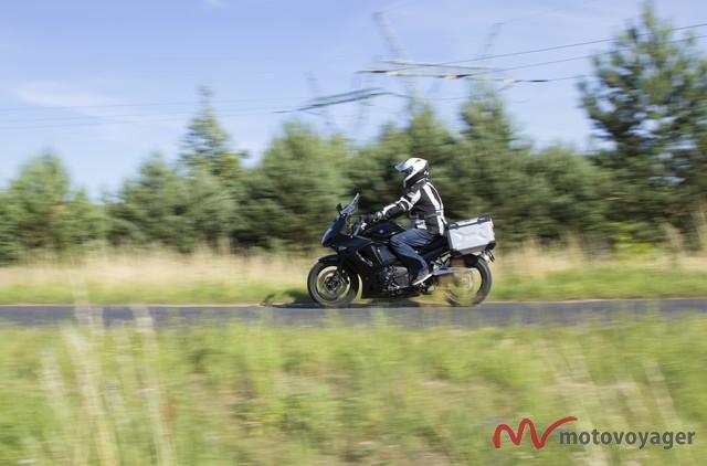 120 km/h to optymalna prędkość z kuframi