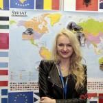 Ania Jackowska każdą wolną chwilę spędzała na swoim stoisku