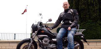 motocyklem do normandii