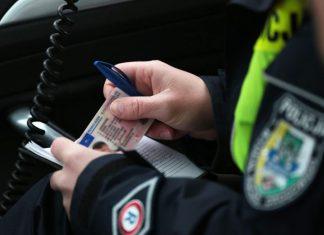 policja prawo jazdy