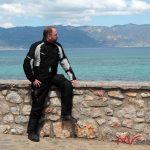 Wspaniały widok na Jezioro Ochrydzkie