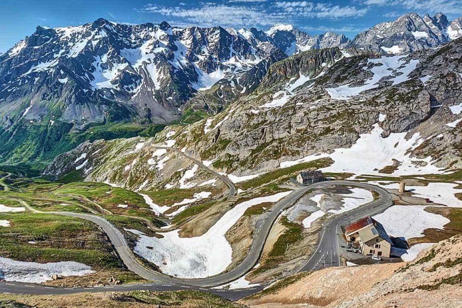 Route des Grandes Alpes trasy motocyklowe francja