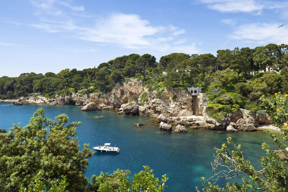 Côte d'Azur trasy motocyklowe francja