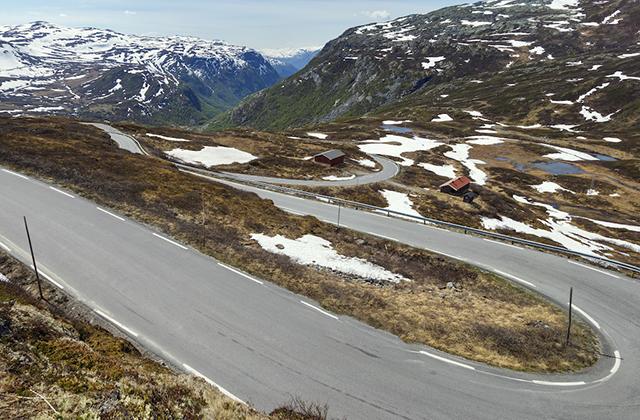 motocyklem do norwegii