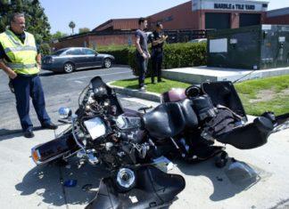 Alec Young dewastacja Harleya