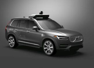 autonomiczne auto ubera Volvo XC