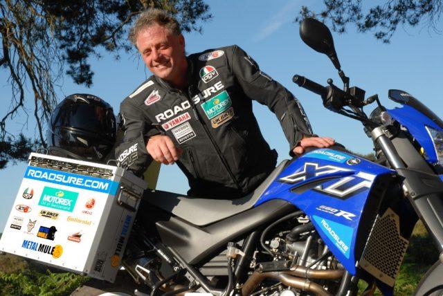 Nick Sanders – motocyklowy podróżnik, który siedem razy objechał kulę ziemską