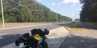 honda cbr f4 motocykl sport kufry bagaż wyprawa wycieczka motocyklowa awaria sport 600