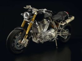 najdroższy motocykl na świecie Ecosse Titanium Series