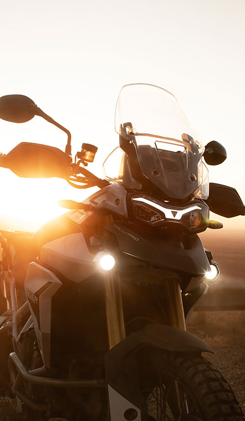 Nowy Triumph Tiger 900 GT Rally PRO 2020