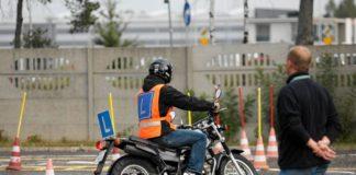 egzamin na prawo jazdy kategoria a a1 a2 am motocykl yamaha pachołki plac manewrowy tw 125
