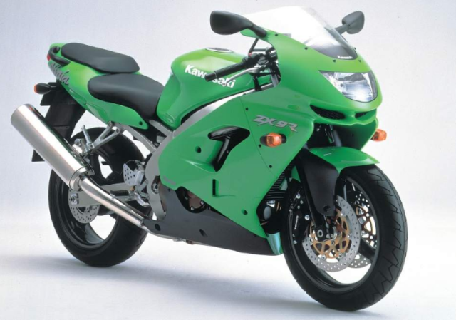 Kawasaki ZX9R z 1998 roku