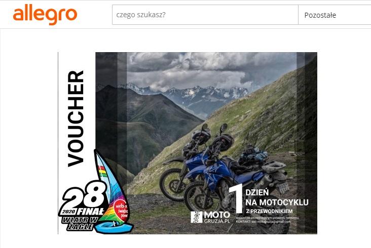motocyklowe aukcje WOŚP