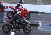 Ducati-Panigale-V4-vs-Kawasaki-H2-ćwiartka-drag-race