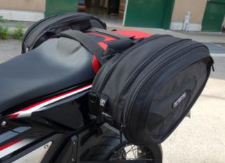Jakie sakwy na motocykl sportowy, turystyczny Ogio Saddle bag stealth 60