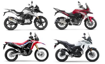 Nowe motocykle, turystyczne, adventure, na prawo jazdy A2 i dla wysokich 2020 [TRK 251, Versys 300, G 310 GS, CRF 250 Rally]