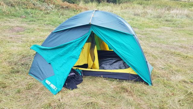 jaki namiot na motocyklową wyprawę