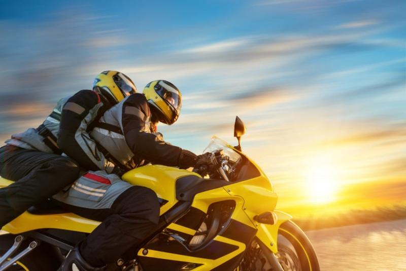 jazda motocyklem