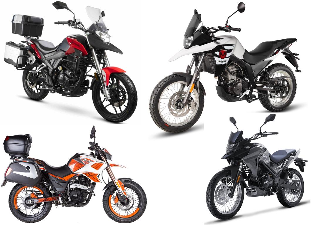 motocykle adventure kategorii 125