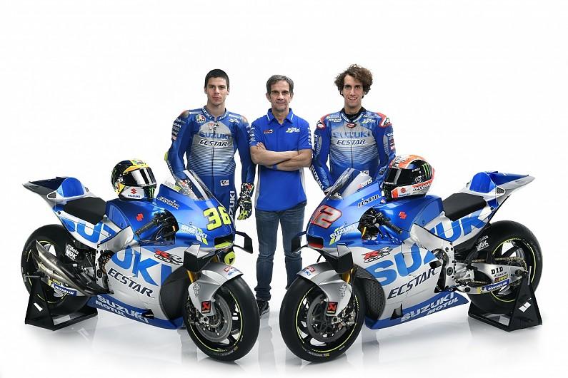 suzuki ecstar motogp 2020 suzuki joan mir alex rins wyścigi motocyklowe gsxrr