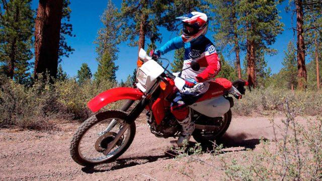 Honda XR650L adventure enduro motocykl