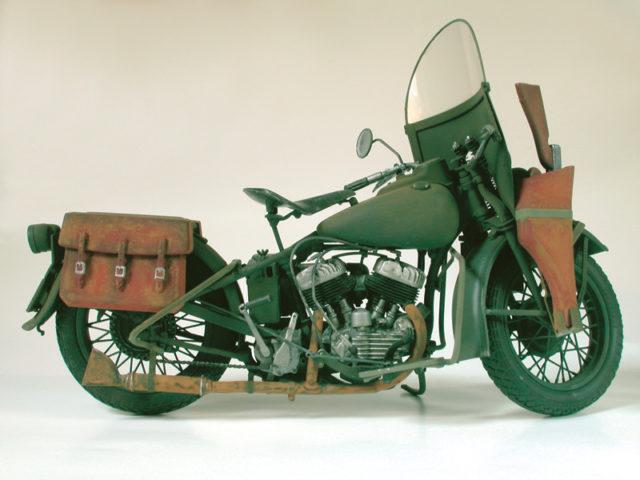 Italeri Harley WLA model do sklejania