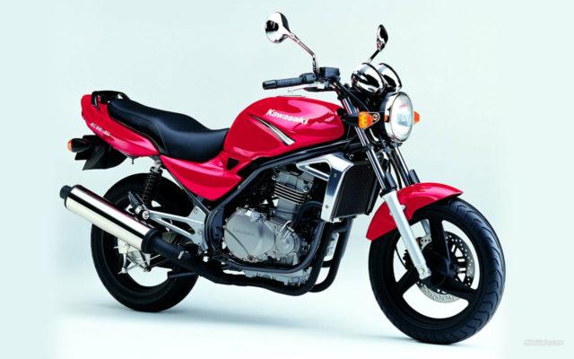 Kawasaki ER-5 Motocykl do miasta miejski