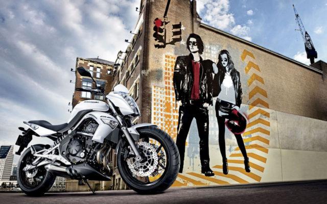 Kawasaki ER6 motocykl miejski do miasta