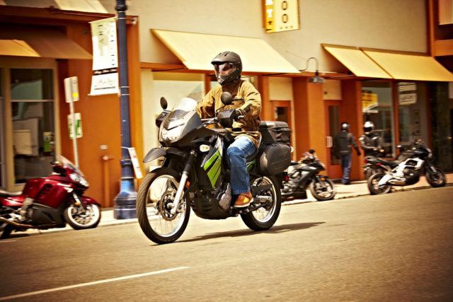 Kawasaki KLR 650 adventure enduro motocykl