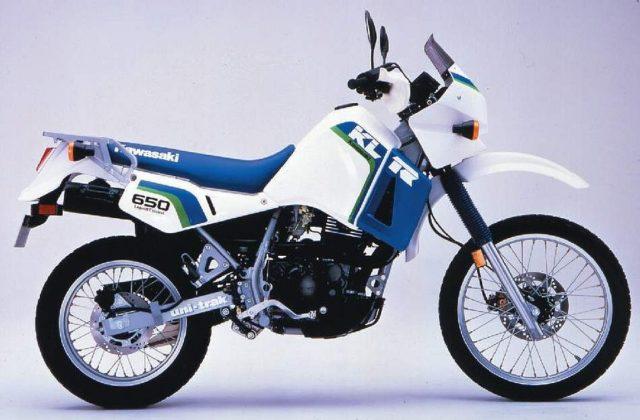 Kawasaki KLR650 kultowe enduro rok 86