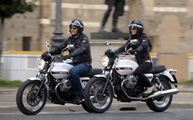 Moto Guzzi V7 motocykl miejski do miasta