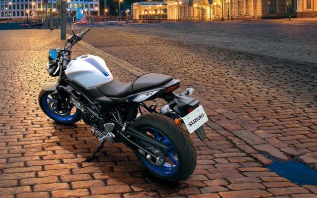 Suzuki SV650 motocykl miejski do miasta
