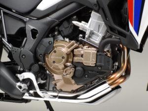 Tamiya Honda Africa Twin model motocykl do sklejania 2