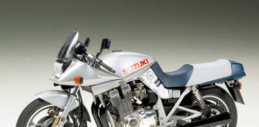 Tamiya Suzuki Katana model motocykl do sklejania