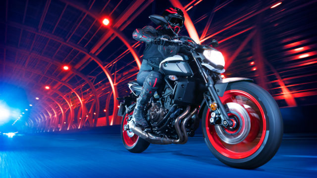 Yamaha Mt07 motocykl miejski do miasta